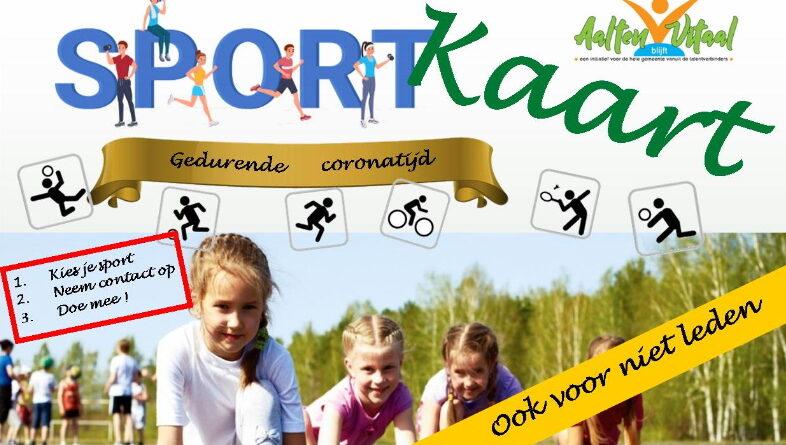 Sportkaart voor kinderen en jongeren
