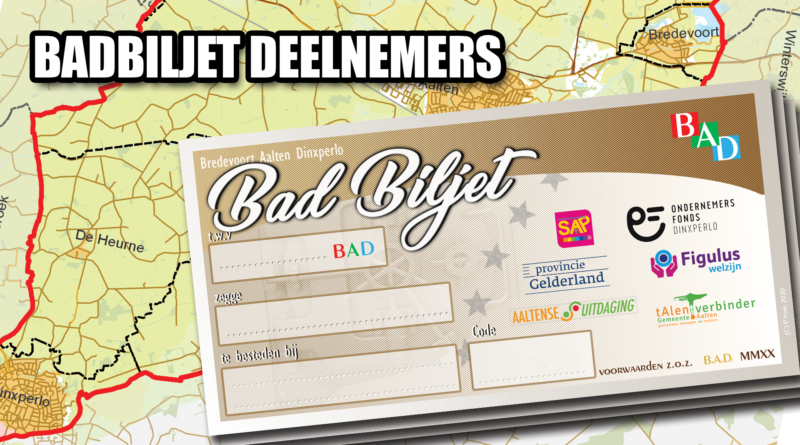 Bekijk hier alle deelnemers van het BAD Biljet